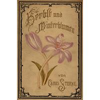 Sterne, Carus, 1886, Herbst- und Winterblumen : eine Schilderung der heimischen Blumenwelt