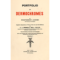 Jacobi, Eduard, Portfolio of dermochromes. Vol. 1