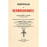 Jacobi, Eduard, Portfolio of dermochromes. Vol. 1