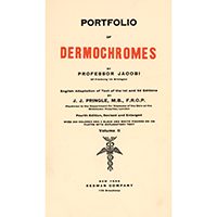 Jacobi, Eduard, Portfolio of dermochromes. Vol. 2