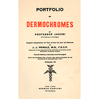 Jacobi, Eduard, Portfolio of dermochromes. Vol. 3